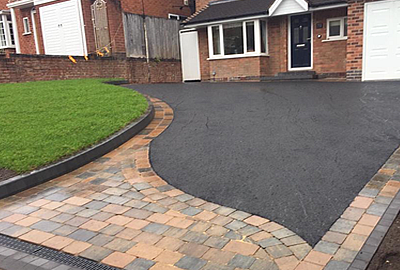Block paved & Tarmac driveways by Ideal Building & Landscapes Ltd