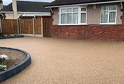 Resin driveways by Ideal Building & Landscapes Ltd